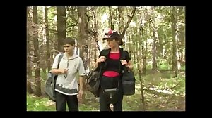 Mom takes sons friend into the woods for..
