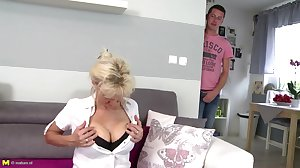 Sexy mature moms fucked by not their sons