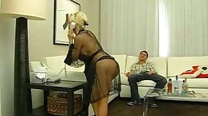 horny Diamond Foxxx has fun in hotel..
