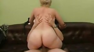 Son Fucking her blonde mom -..