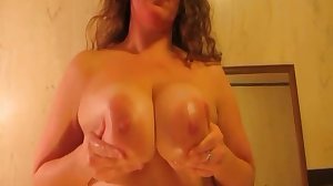 Big tits mom fucks her son's friend